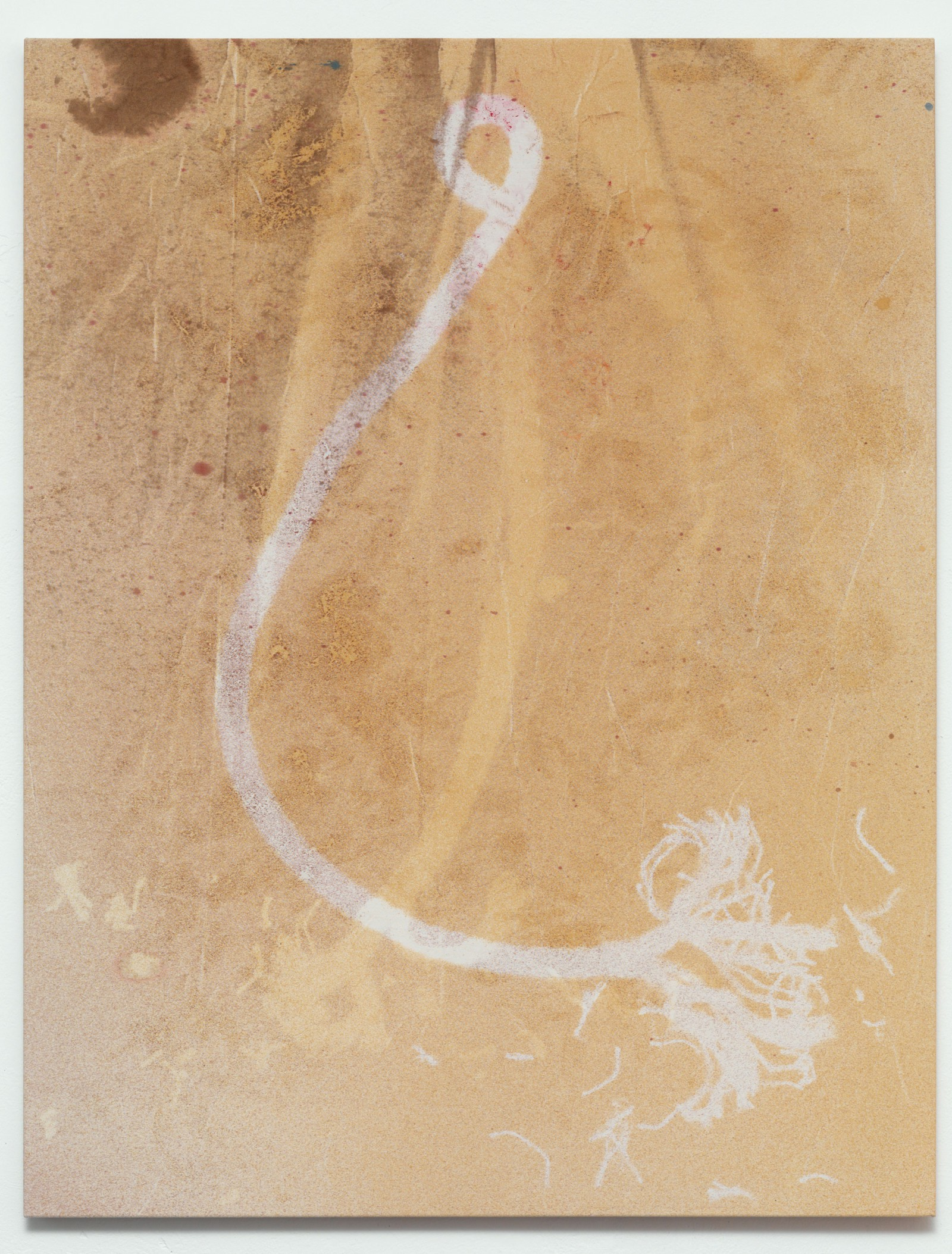 Kim Nekarda: von einem rätsel zum andern (à michel leiris), 2012, vinyl color & body print on cotton, 130 x 100 cm, private collection, berlin