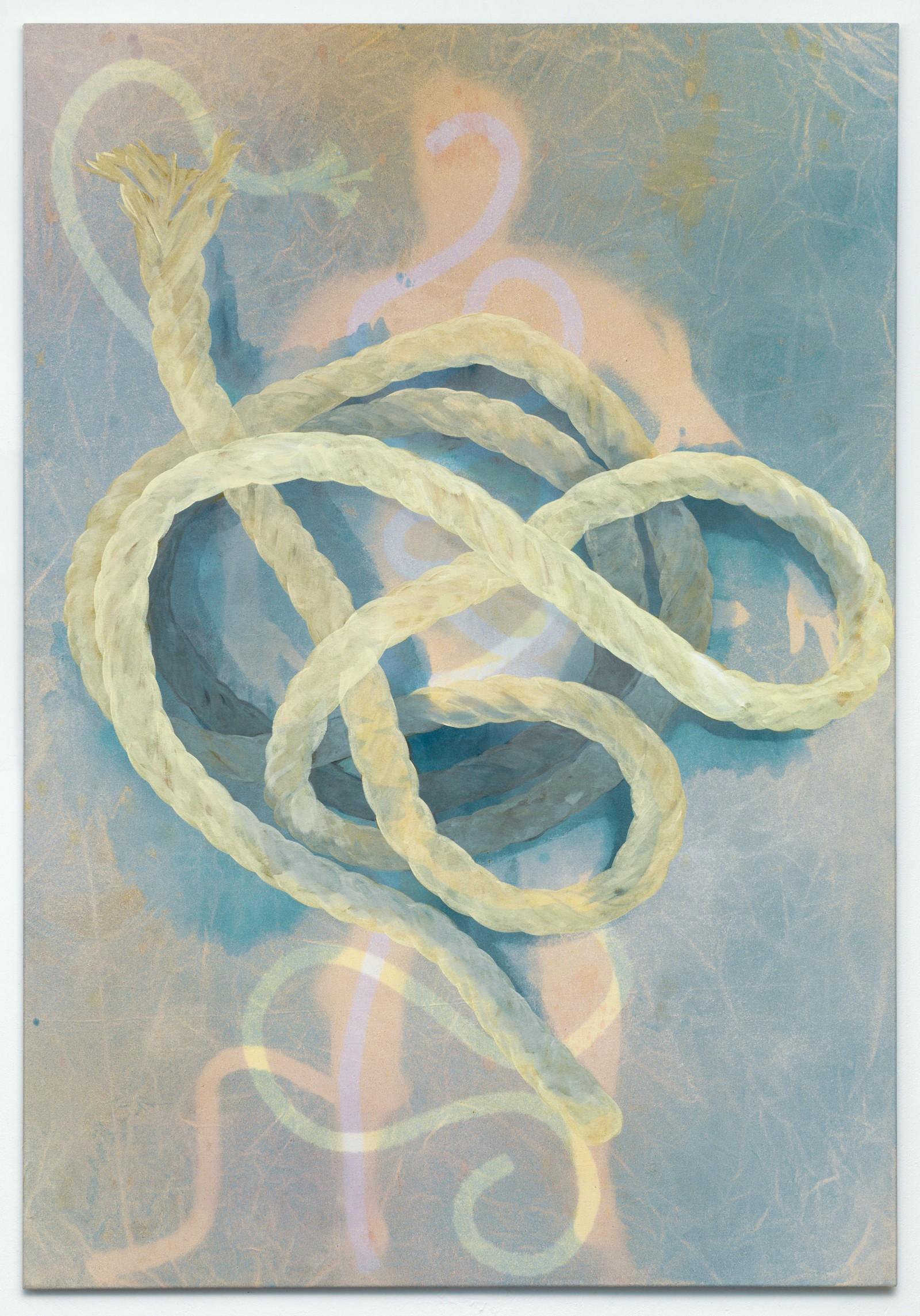 Kim Nekarda: untitled (kanopen), 2010, vinyl color & body print on cotton, 200 x 140 cm